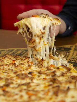 New packaging of the Atawich pizza